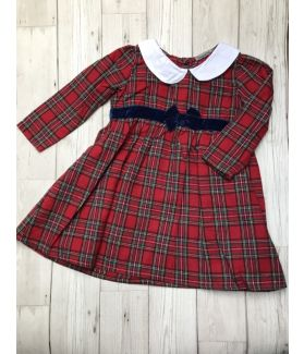Baby Girl's Tartan Dress